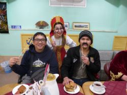 Easter week for foreign seafarers in Nakhodka Marine Club
